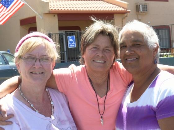 Tracy, Carla, Indygo